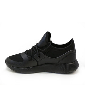 Herresko- Slip on-Sneakers- Sort Konkurspriser ny