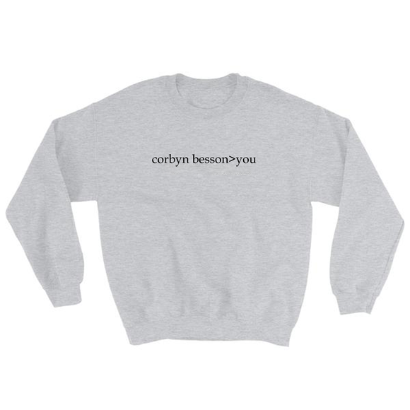 Corbyn Besson>You Sweatshirt