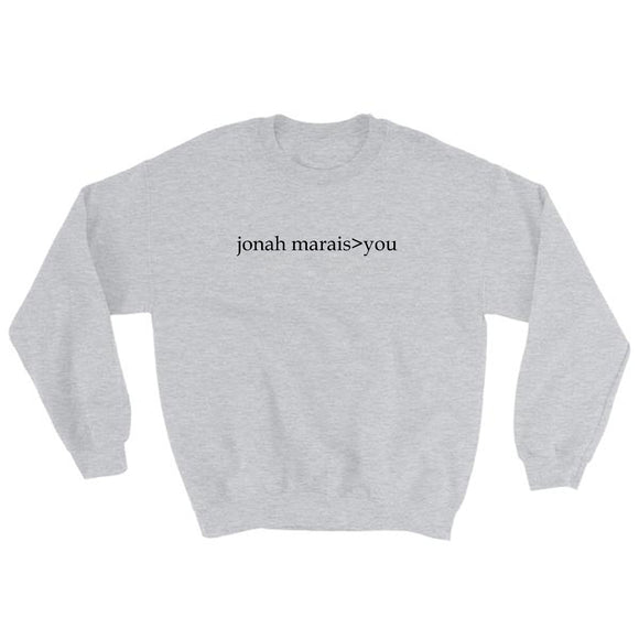 Jonah Marais>You Sweatshirt