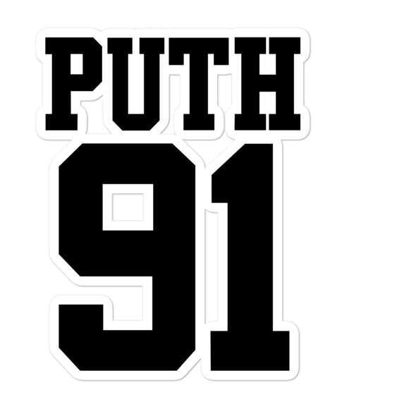 Puth 91 Bubble-free stickers
