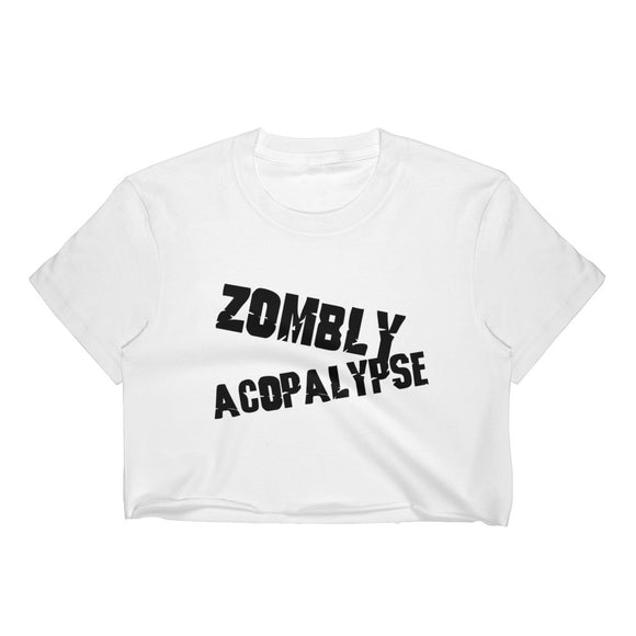 Zombly Acopalypse Women's Crop Top
