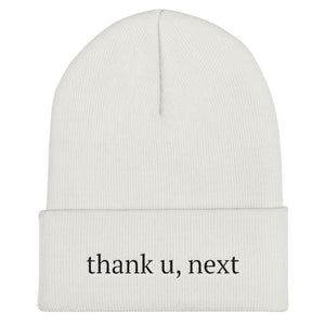 thank u, next Cuffed Beanie