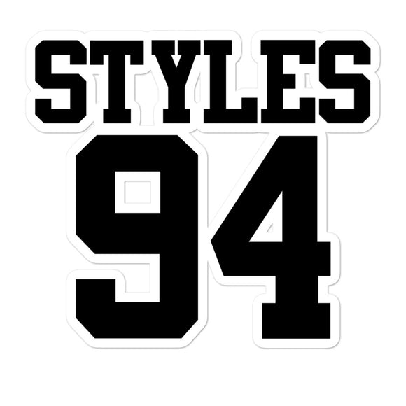 Styles 94 Bubble-free stickers