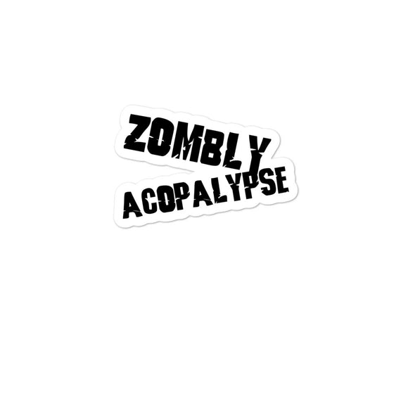 Zombly Acopolypse Bubble-free stickers