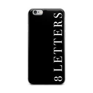 8 Letters iPhone Case