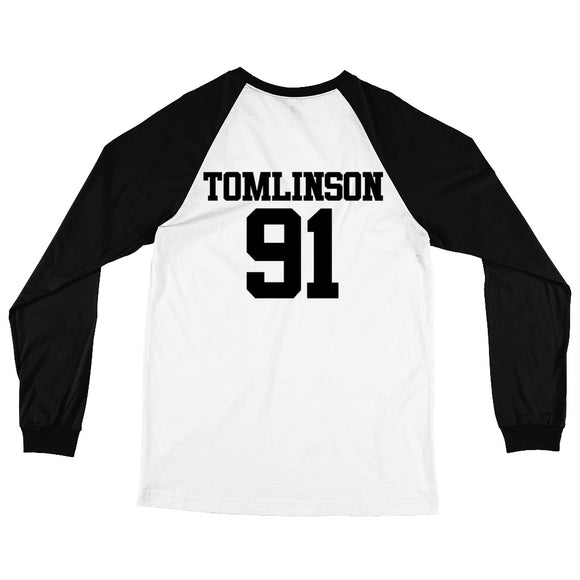 Tomlinson 91 Long Sleeve Baseball T-Shirt
