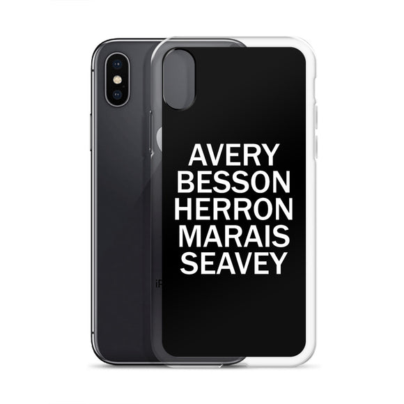 Avery Besson Herron Marais Seavey iPhone Case
