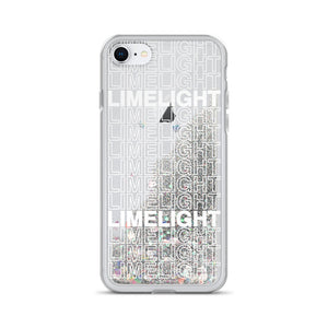 Limelight Repeat Liquid Glitter iPhone Case