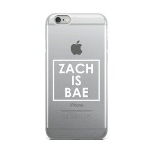 Zach Is Bae iPhone Case