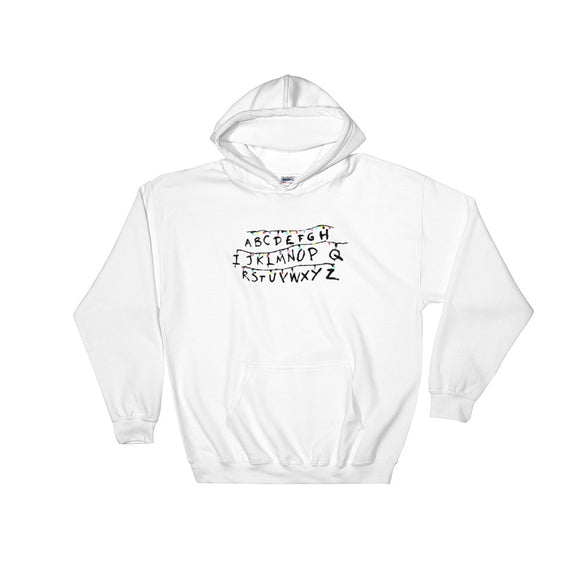 Alphabet Wall Hooded Sweatshirt
