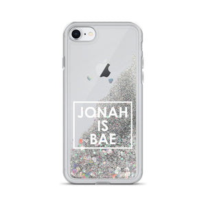 Jonah Is Bae Liquid Glitter iPhone Case