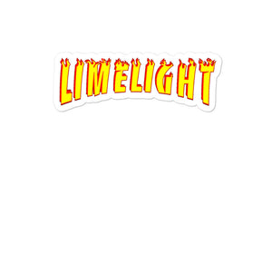 Limelight Flames Bubble-free stickers
