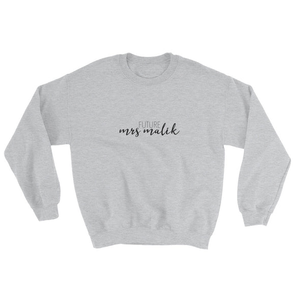 Future Mrs Malik Sweatshirt