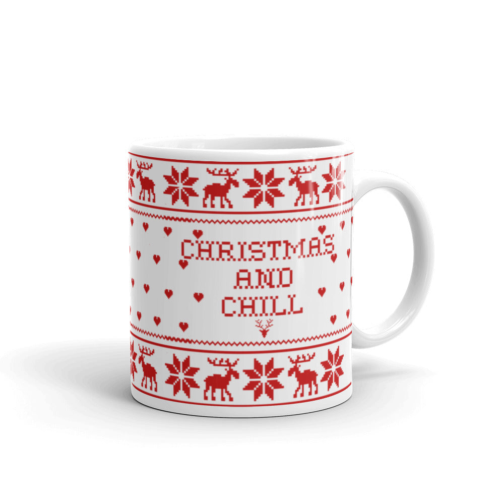 Christmas And Chill.Christmas And Chill Mug