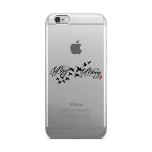 Stay Strong iPhone Case