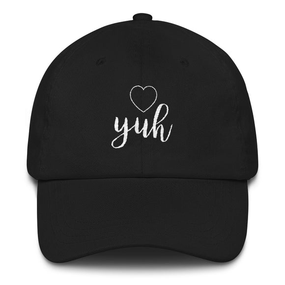 Yuh Embroidered Dad hat