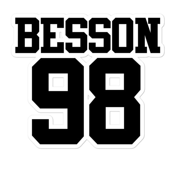 Besson 98 Bubble-free stickers