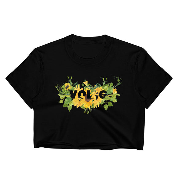 Sunflower Vol. 6 Women's Crop Top