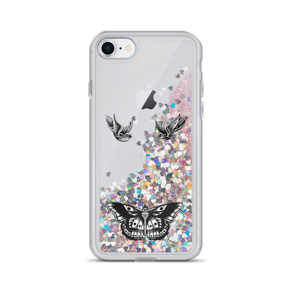 Styles Liquid Glitter iPhone Case
