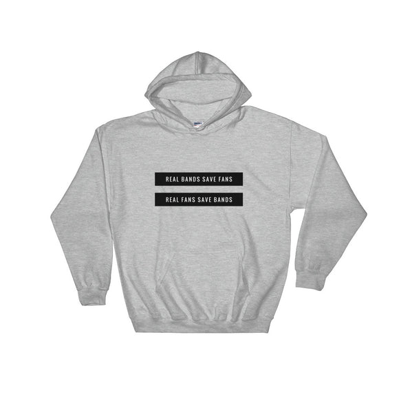Real Bands Save Fans Hooded Sweatshirt