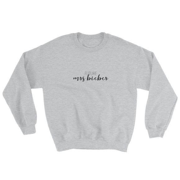 Future Mrs Bieber Sweatshirt