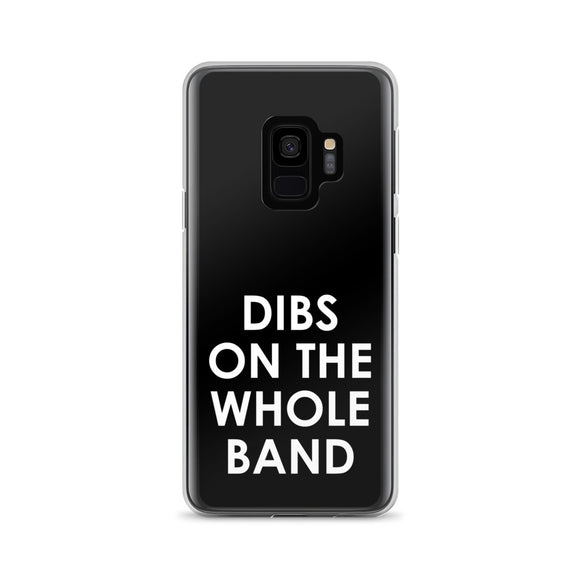 Dibs On The Whole Band Samsung Case