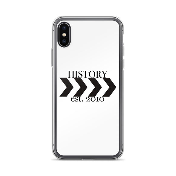History est. 2010 iPhone Case (all sizes available!)