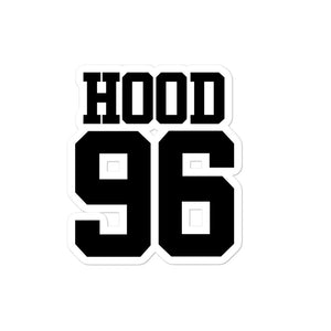 Hood 96 Bubble-free stickers