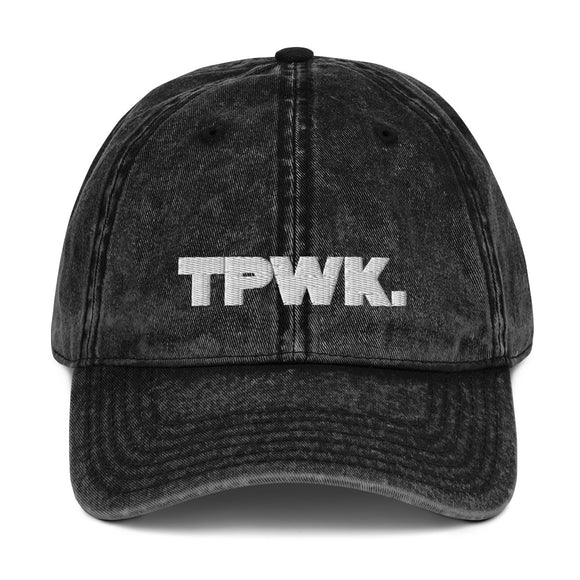 TPWK. Vintage Cotton Twill Cap