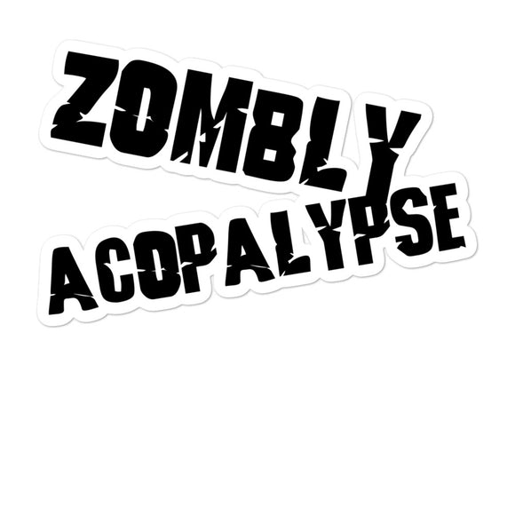 Zombiy Acopolypse Bubble-free stickers