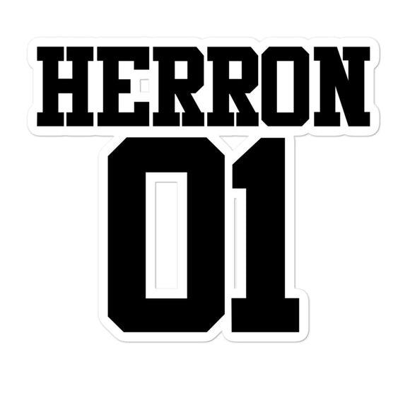 Herron 01 Bubble-free stickers