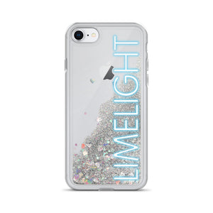 Limelight Liquid Glitter iPhone Case