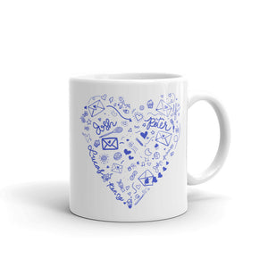 To All The Boys Doodles Mug