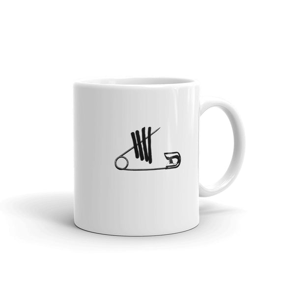Safety Pin Mug
