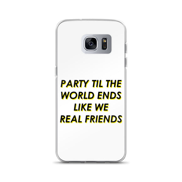 Like We Real Friends Samsung Case