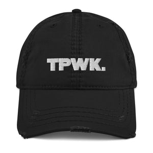 TPWK. Distressed Dad Hat