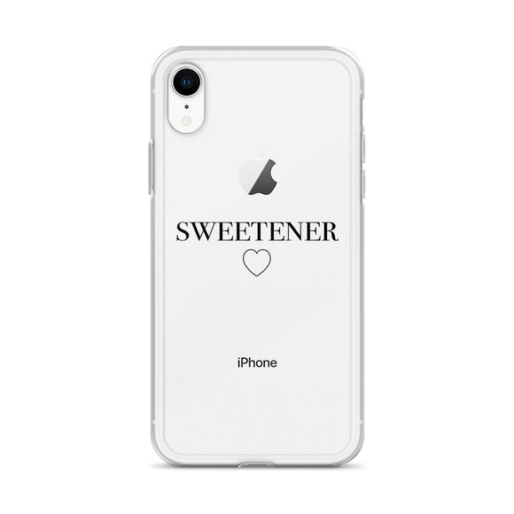 Sweetener Clear iPhone Case