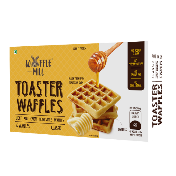 Toaster Waffles (Frozen) ONLY AVAILABLE IN MUMBAI