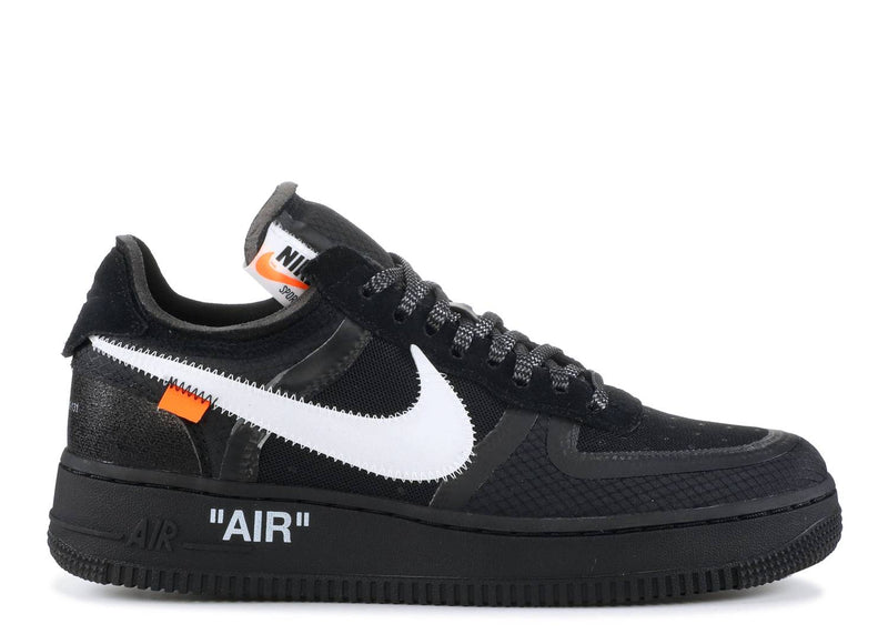 OFF-WHITE x AIR FORCE 1 LOW 'BLACK'