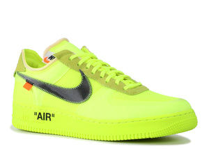 "THE 10: NIKE FORCE 1 ""OFF WHITE"" VOLT"