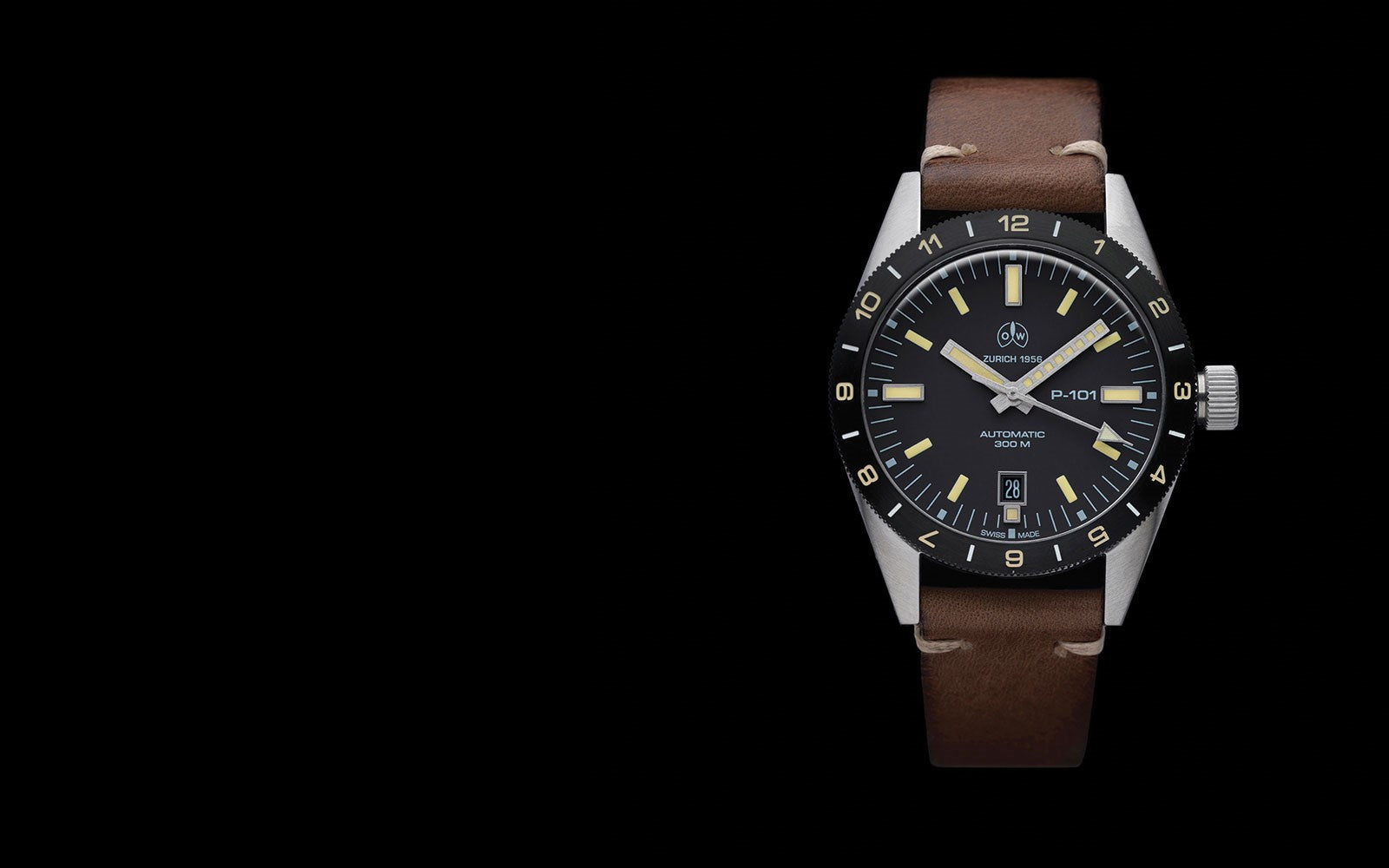 Ollech and Wajs P-101 pilot watch