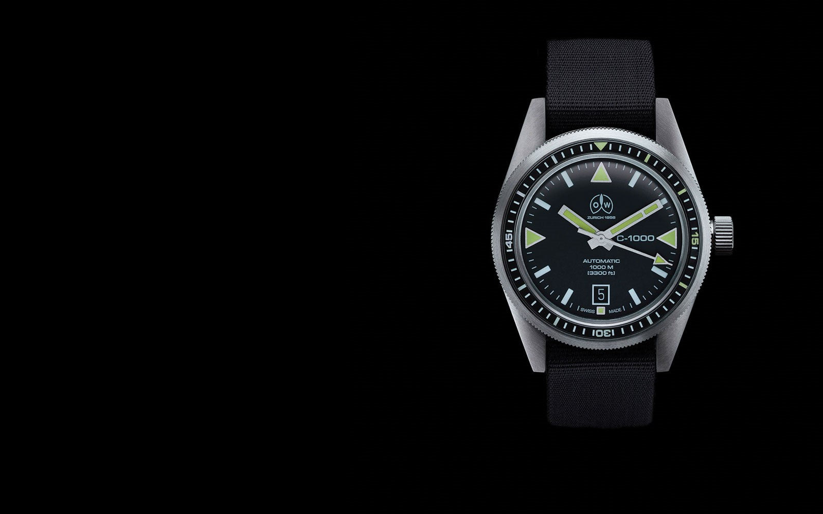 Ollech and Wajs C1000 diving watch