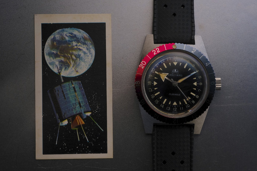Ollech and Wajs OW The 1965 OW Early Bird ref: 72 Swiss made watch