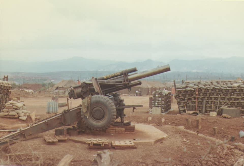One of the 155m Howitzer gun emplacements on the west side of the Khe Sanh combat base. (©Jim Griffin)