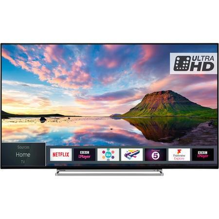 "Toshiba 43U5863DB 43"" 4K Ultra HD Dolby Vision HDR LED Smart TV - Lintronics Group LTD"