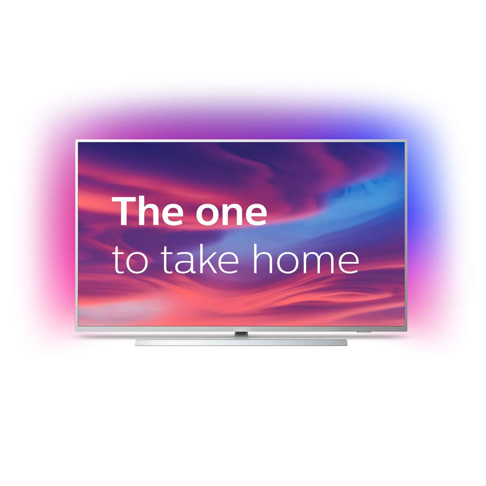 Philips 65PUS7304/12 65-Inch 4K Ultra HD Android Smart TV with Ambilight 3-sided and HDR 10+, Works With Alexa - Lintronics Group LTD