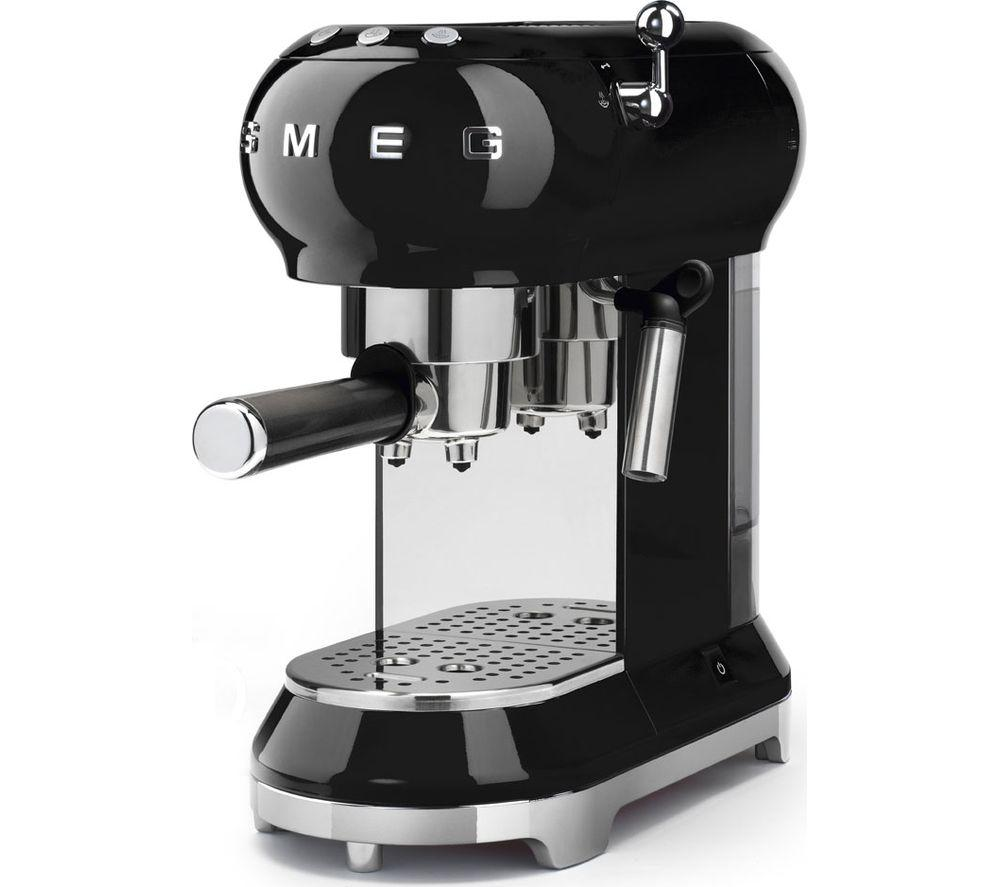 SMEG ECF01CRUK Coffee Machine - Lintronics Group LTD