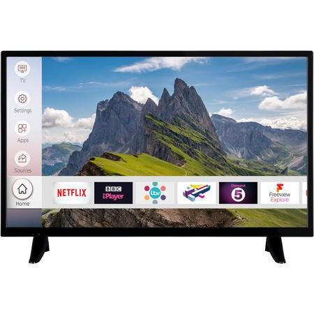 "electriQ 32"" HD Ready LED Smart TV with Freeview HD and Freeview Play - Lintronics Group LTD"