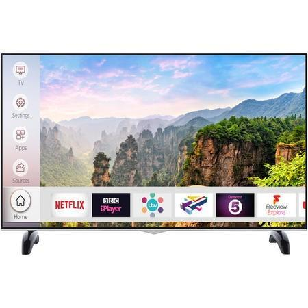 "electriQ 43"" 4K Ultra HD Dolby Vision HDR LED Smart TV with Freeview HD and Freeview Play - Lintronics Group LTD"