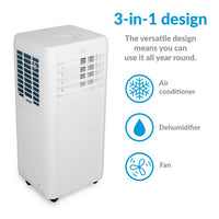 electriQ 12000 BTU Portable Air Conditioner - Lintronics Group LTD